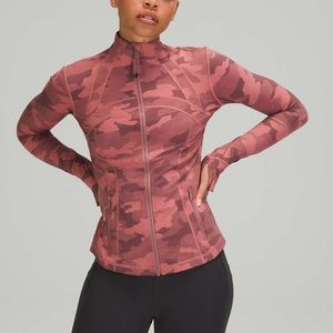 Lululemon Define Jacket Camo Pink